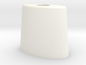 Seaking Tail Strobe Mount in White Processed Versatile Plastic