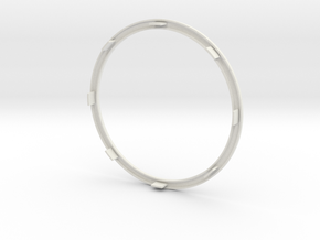 Iron Man Arc Reactor Chest Ring ( 76mm / 3in ) in White Natural Versatile Plastic