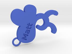 Matt in Blue Processed Versatile Plastic