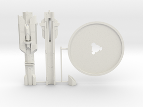 Atlantis Tower KIT in White Natural Versatile Plastic