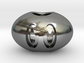 The Hate Project: SNOUT BEAD in Polished Silver