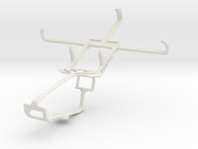 Controller mount for Xbox One & Alcatel Pop D5 in White Natural Versatile Plastic