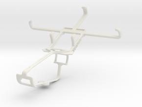 Controller mount for Xbox One & BLU Life Pure Mini in White Natural Versatile Plastic