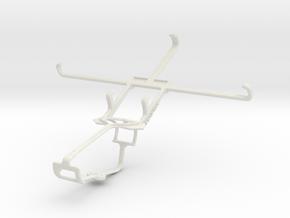 Controller mount for Xbox One & Gigabyte GSmart Sa in White Natural Versatile Plastic