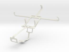 Controller mount for Xbox One & Gigabyte GSmart Ar in White Natural Versatile Plastic