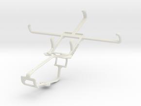 Controller mount for Xbox One & HTC Desire 700 dua in White Natural Versatile Plastic
