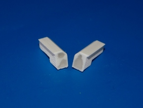 N-Scale Dynacell Air Filter - 5-Pack in Smooth Fine Detail Plastic