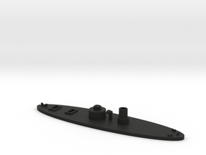 1/600 USS Lehigh in Black Natural Versatile Plastic