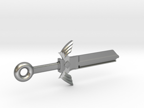 Zelda Master Sword House Key Blank - KW11/97 in Natural Silver
