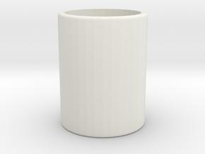 Milkyspacerv2 in White Natural Versatile Plastic