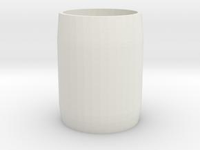 Milkyspacerv1 in White Natural Versatile Plastic