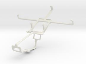 Controller mount for Xbox One & Lenovo S850 in White Natural Versatile Plastic