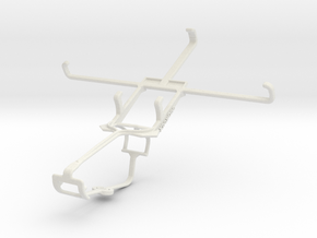 Controller mount for Xbox One & LG G3 Screen in White Natural Versatile Plastic