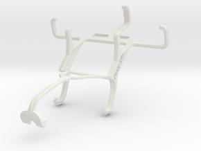 Controller mount for Xbox 360 & LG Optimus L1 II T in White Natural Versatile Plastic