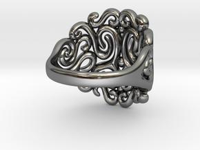 Arabesque Ring in Premium Silver