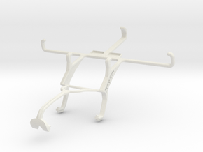 Controller mount for Xbox 360 & Maxwest Virtue Z5 in White Natural Versatile Plastic