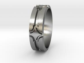 Rhombt Sz12 in Natural Silver