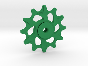 Lightweight Lower Pulley For SRAM XX1 12t in Green Processed Versatile Plastic
