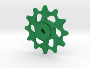 Lightweight Upper Pulley For SRAM XX1 12t in Green Processed Versatile Plastic