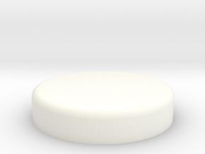 Tie Chestbox Led Cap in White Processed Versatile Plastic