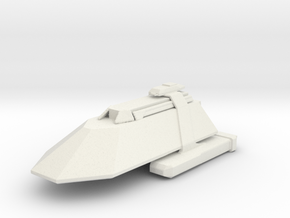 Gorn Cruiser in White Natural Versatile Plastic