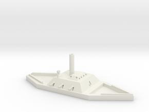 1/600 CSS Huntsville in White Natural Versatile Plastic