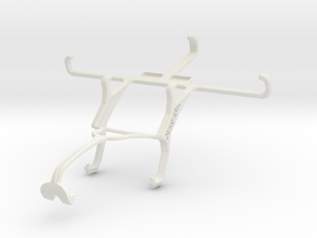 Controller mount for Xbox 360 & Samsung I9301I Gal in White Natural Versatile Plastic
