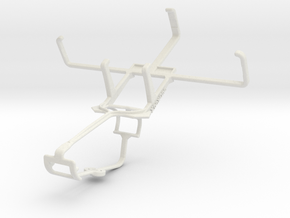 Controller mount for Xbox One & Sonim Land Rover A in White Natural Versatile Plastic
