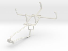Controller mount for Xbox One Chat & Sonim Land Ro in White Natural Versatile Plastic