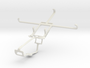 Controller mount for Xbox One & Sony Xperia C3 Dua in White Natural Versatile Plastic
