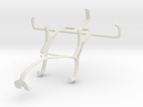 Controller mount for Xbox 360 & Sony Xperia E1 in White Natural Versatile Plastic