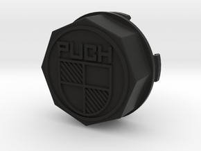 V1.2 PUCH +20mm Mercedes, Center Cap in Black Natural Versatile Plastic