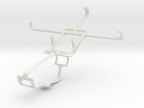 Controller mount for Xbox One & Spice Mi-451 Smart in White Natural Versatile Plastic