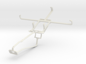 Controller mount for Xbox One Chat & Unnecto Rush in White Natural Versatile Plastic