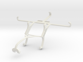 Controller mount for Xbox 360 & Yezz Andy 5T in White Natural Versatile Plastic