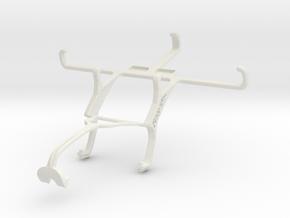 Controller mount for Xbox 360 & ZTE Blade Q in White Natural Versatile Plastic