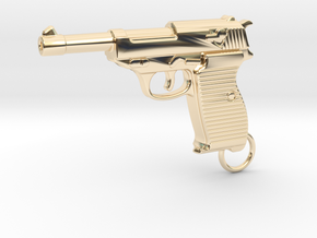 WALTHER P38 in 14k Gold Plated Brass
