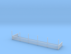 Bagby Hotel Balcony Railing in Smooth Fine Detail Plastic