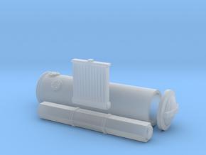 1/87 Z/H6/Holzvergaser/001 in Smooth Fine Detail Plastic