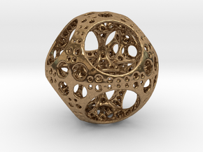 Apollonian Octahedron Supersmall in Natural Brass