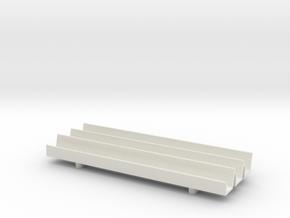 1/64 Fence Line Feedbunk - 90ft in White Natural Versatile Plastic