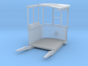 Bournemouth or Llandudno bogie tram platform 4mm S in Smooth Fine Detail Plastic