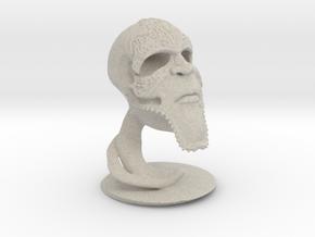 Wormskull in Natural Sandstone