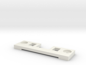 LGB G-Scale Kupplungszentrierer Lenksperre in White Natural Versatile Plastic