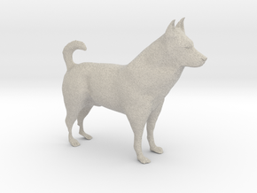 "Shepherd Dog - 10cm / 4"" in Natural Sandstone"