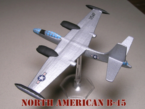 1/285 (6mm) Scale B-45 Tornado   (ver-2) in White Natural Versatile Plastic