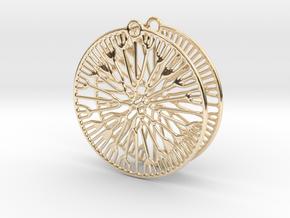 Fluid Earrings in 14K Yellow Gold