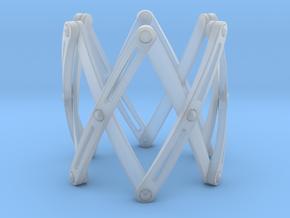 Expandable structure Bracelet XL in Smooth Fine Detail Plastic