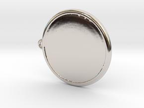 Colleizone Lion Pendant in Platinum