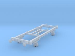 TT scale DSB Hj Vogn (Part 2/2) in Smooth Fine Detail Plastic